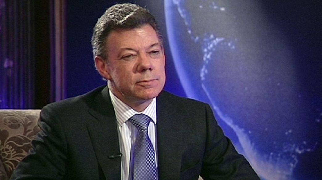 """""""La guerra a volte serve per fare la pace"""" - Juan Manuel Santos, presidente colombiano"""