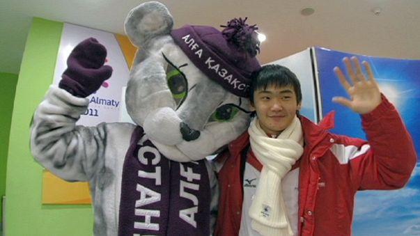 7. Asya Kış Oyunları açılışı göz kamaştırdı