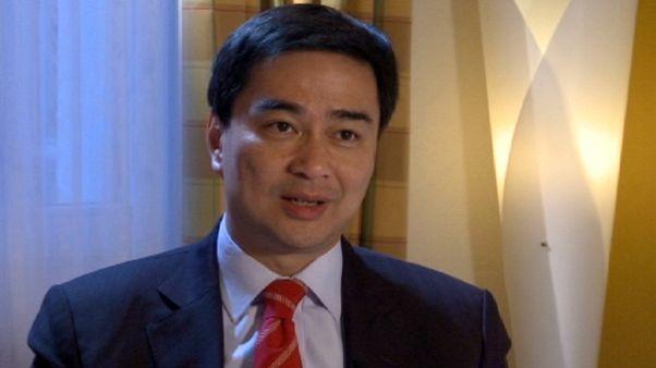 """Abhisit Vejjajiva - Premier Ministre de la Thaïlande : """"En Thaïlande, les gens peuvent manifester mais pacifiquement, sans armes"""""""