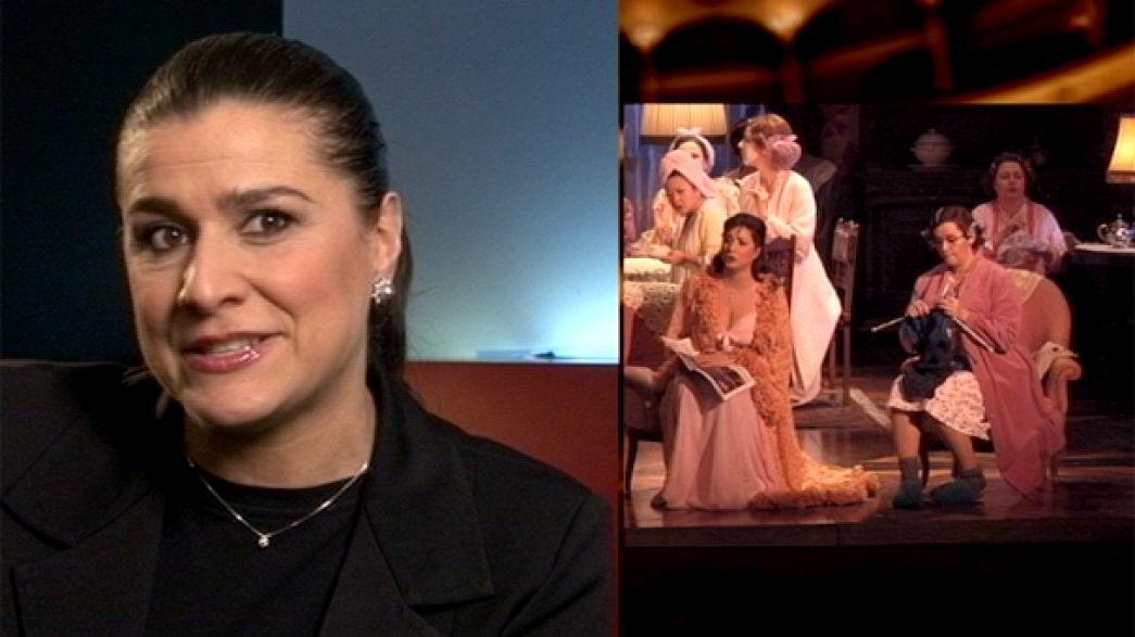 Cecilia Bartoli ne Le Compte Ory, di Gioachino Rossini