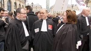 "French judges step up ""strike"" against Sarkozy"