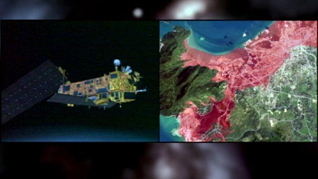 Sulak alanlar yaşamak için uyduya bakıyor