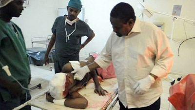 Civil war, civil wounded, Somalia