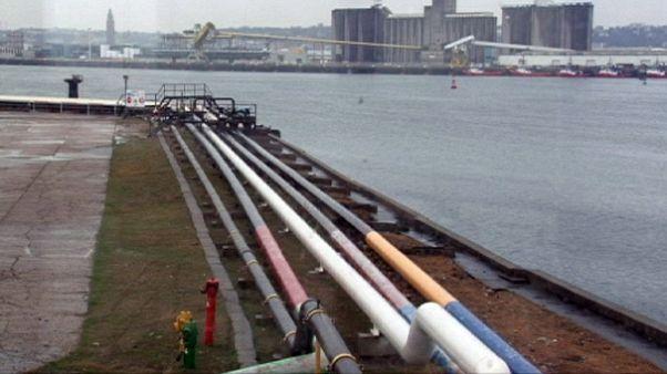 Le réseau de pipelines de l'OTAN