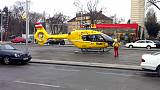 An helicopter in Vienna