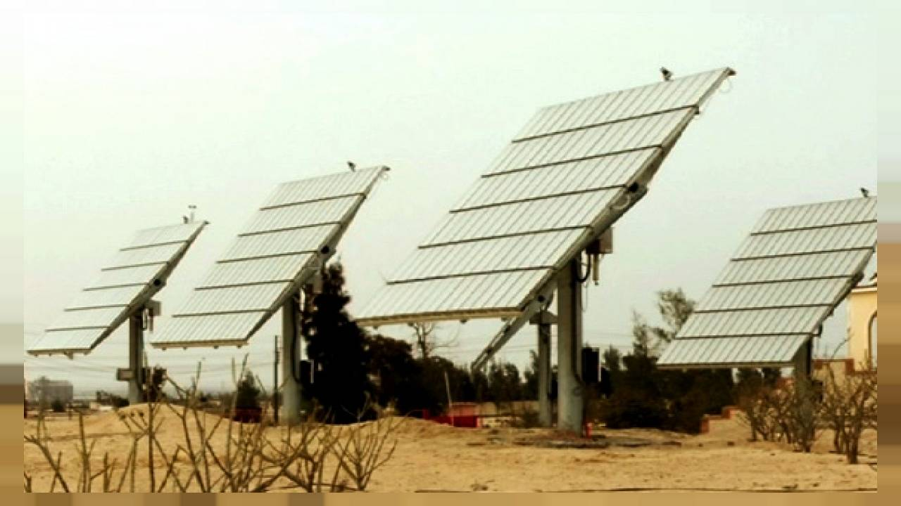 El oasis fotovoltaico