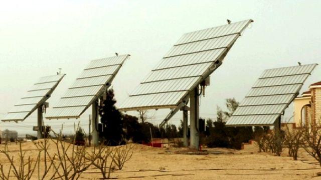 Un'oasi fotovoltaica