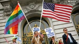 US closer to recognising gay marriages