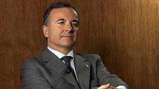 """Franco Frattini : """"Le problème de l'exode massif de Libyens n'est pas italien mais européen."""""""
