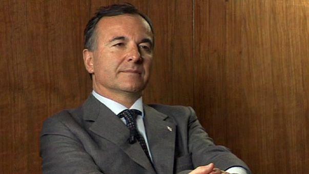 Frattini denies Italian support for Libyan rebels