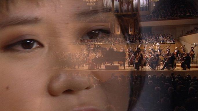 Uçan parmaklar Yuja Wang, Rahmaninov ile sahnede
