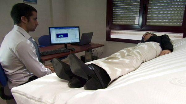 Una cama de hospital con inteligencia artificial