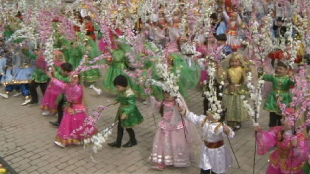 Azerbaiyán celebra Novruz, el equinoccio de primavera