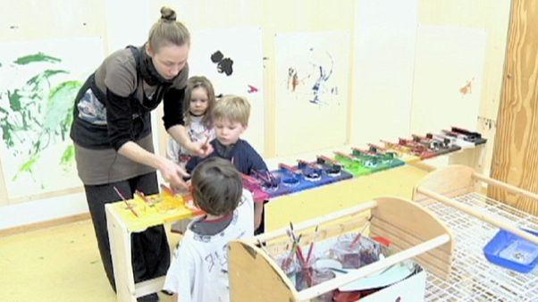 الهام دادن به کودکان
