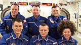 La tripulación de la Estación Espacial Internacional habla de la vida a bordo