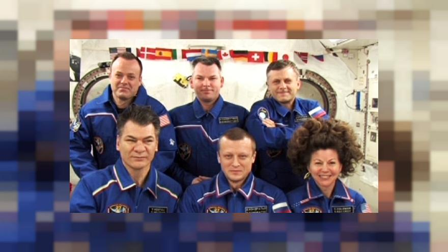 ISS astronauts answer questions on life in space
