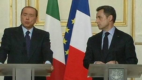 French-Italian border spat meeting