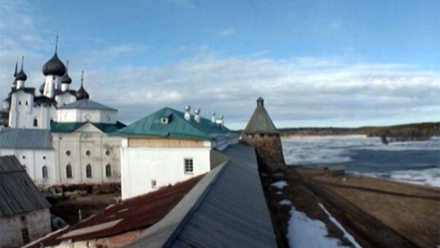 Las místicas islas Solovetsky conviven con su pasado
