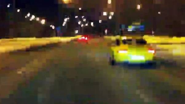Car chase in Warsaw