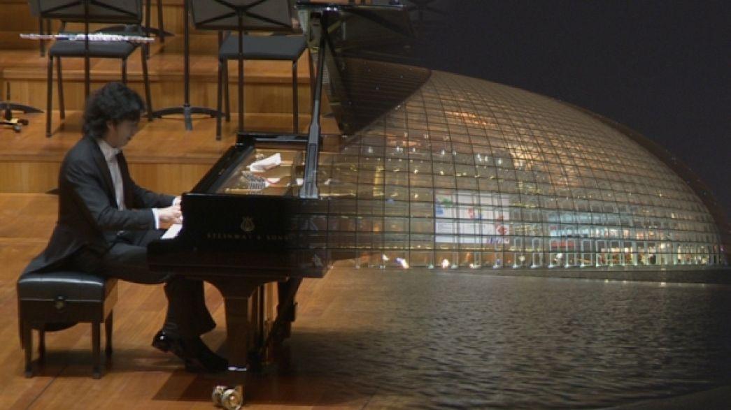 آداء مميز لأعمال شوبان وليزت من طرف عازف البيانو الصيني يوندي لي