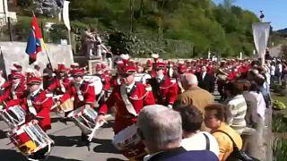 Celebration of Girons de musique in Switzerland