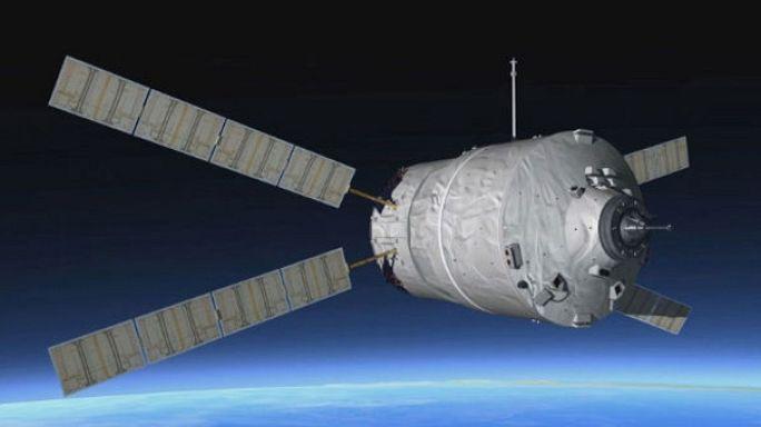 ATV: Uzay kamyonu göklerde