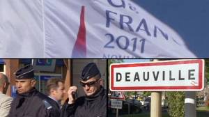 French town in lockdown for G8
