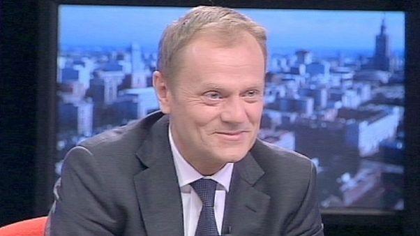 """Queremos el euro lo antes posible"", Donald Tusk, Primer Ministro de Polonia"