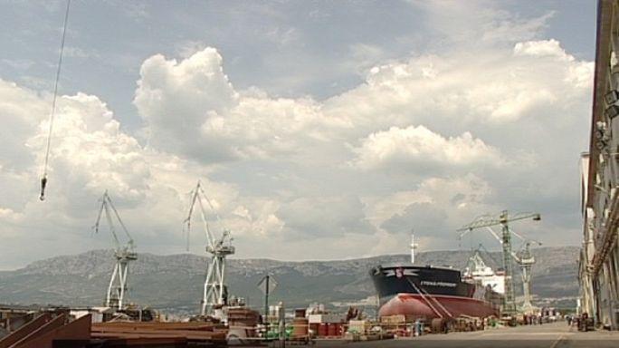 Estaleiros navais croatas à deriva