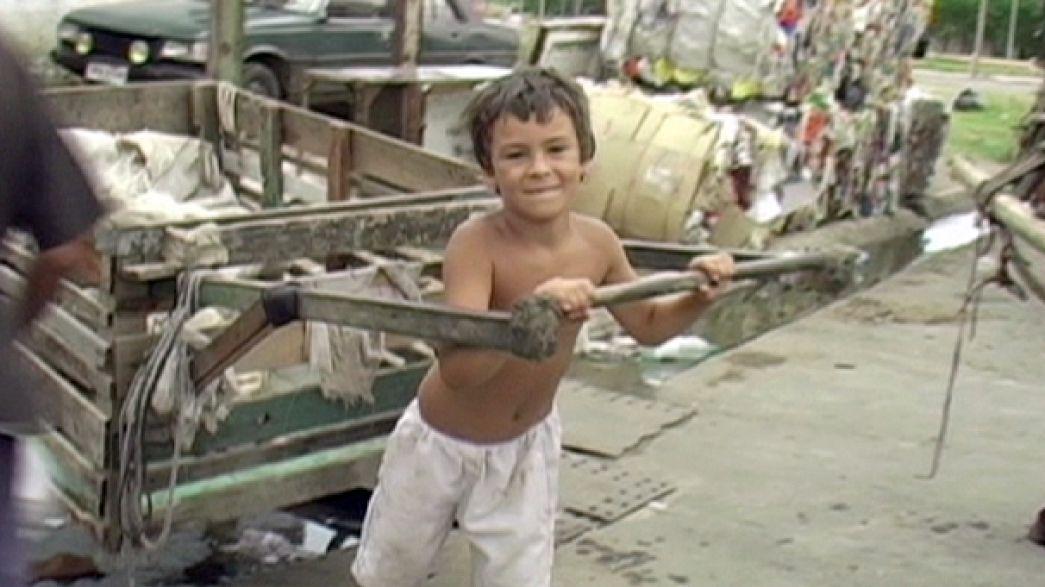La lotta contro lo sfruttamento del lavoro minorile