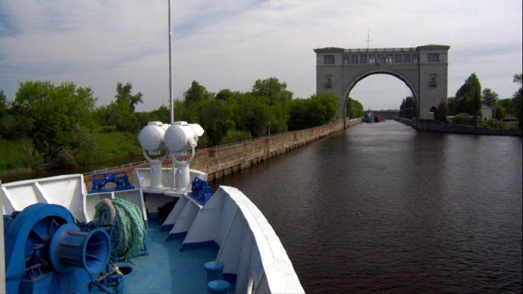 Entdecken Sie die Wolga, den größten Fluss Europas