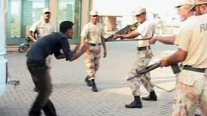 Very public shooting damages Pakistani army