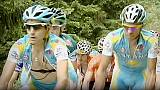 Team Astana gears up for Tour de France