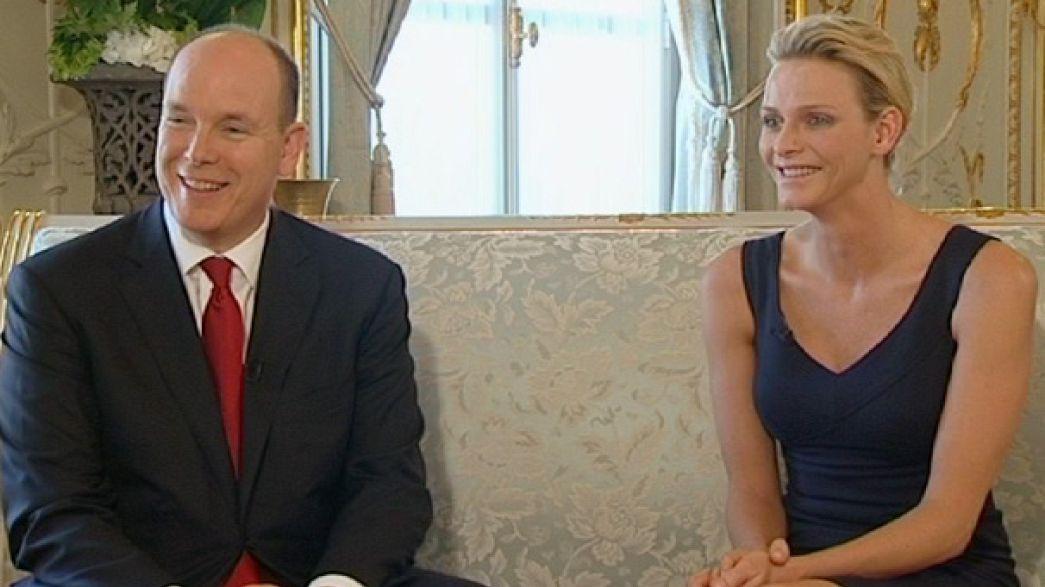 Monaco'nun çanları Prens Albert ve Charlene Wittstock için çalacak