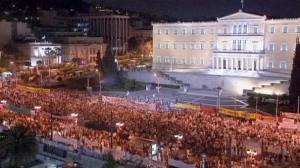 Greeks continue protests against fiscal reform