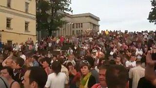 Protests against Lukashenko in Belarus