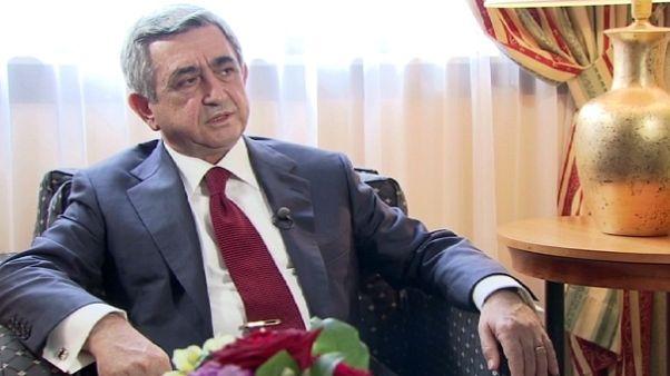 """Serzh Sargsyan: """"Wir müssen gegenseitiges Vertrauen aufbauen."""""""