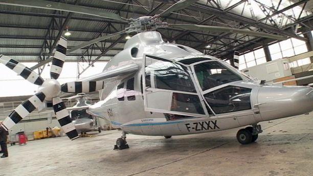 Le Bourget : le X3 d'Eurocopter fait sensation