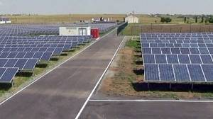 Ukrainian solar plant signals green power drive