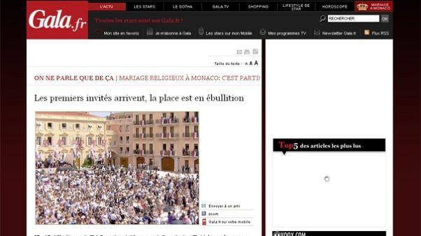 Mariage princier à Monaco : revue de presse