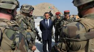 Sarkozy announces early Afghan troop withdrawal
