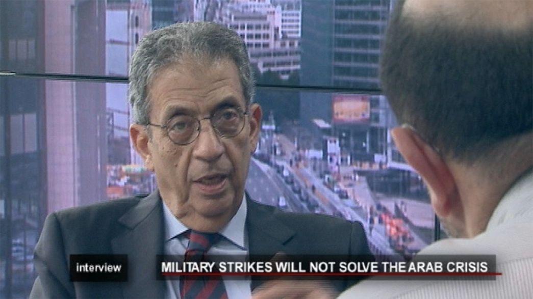 Présidentielle égyptienne et crise lybienne, Amr Moussa se confie à euronews