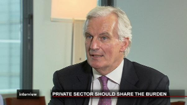 Role of the private sector in euro debt crisis