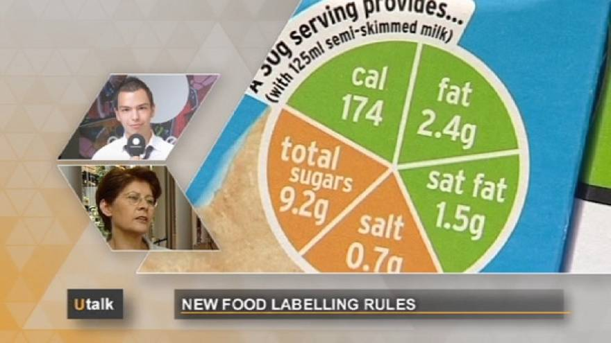 What's on my plate? EU food labelling rules