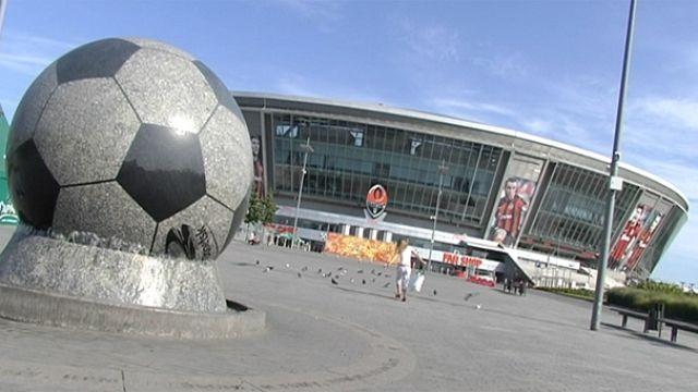أوكرانيا تواصل إتمام بنيتها التحتية لإستقبال كأس الأمم الأوربية في 2012
