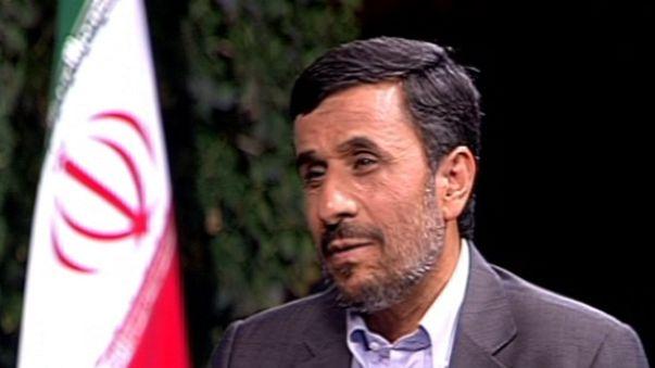 نجاد ليورونيوز: نأسف لمحاكمة مبارك.. ولا فائدة من القنبلة الذرية