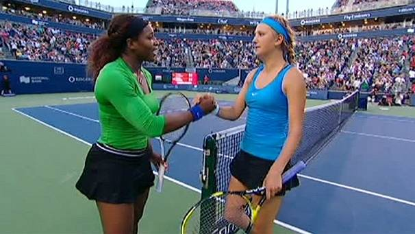 Superb Serena to meet Samantha Stosur in Toronto showdown