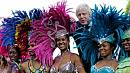 Carnival time in London amid tight security