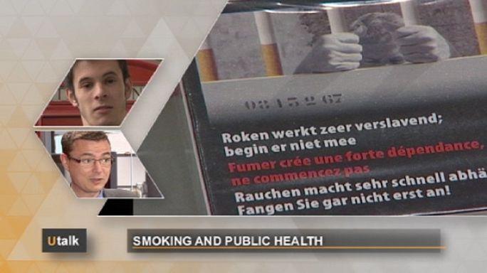 EU sagt, Rauchen schadet der Gesundheit
