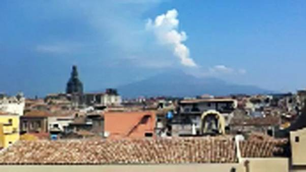 Mount Etna wakes up again